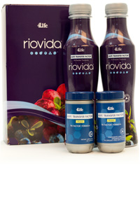 RioVida® and Transfer Factor Plus® Tri-Factor® package